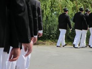 Schützenfest Lippstadt Bad Waldliesborn - Schützenbrüder bei der Parade