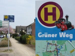 Waliboexpress Lippstadt Bad Waldliesborn Haltestelle Grüner Weg