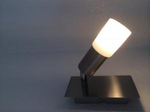Energiesparende LED-Wandleuchte Haus Stallmeister Lippstadt.