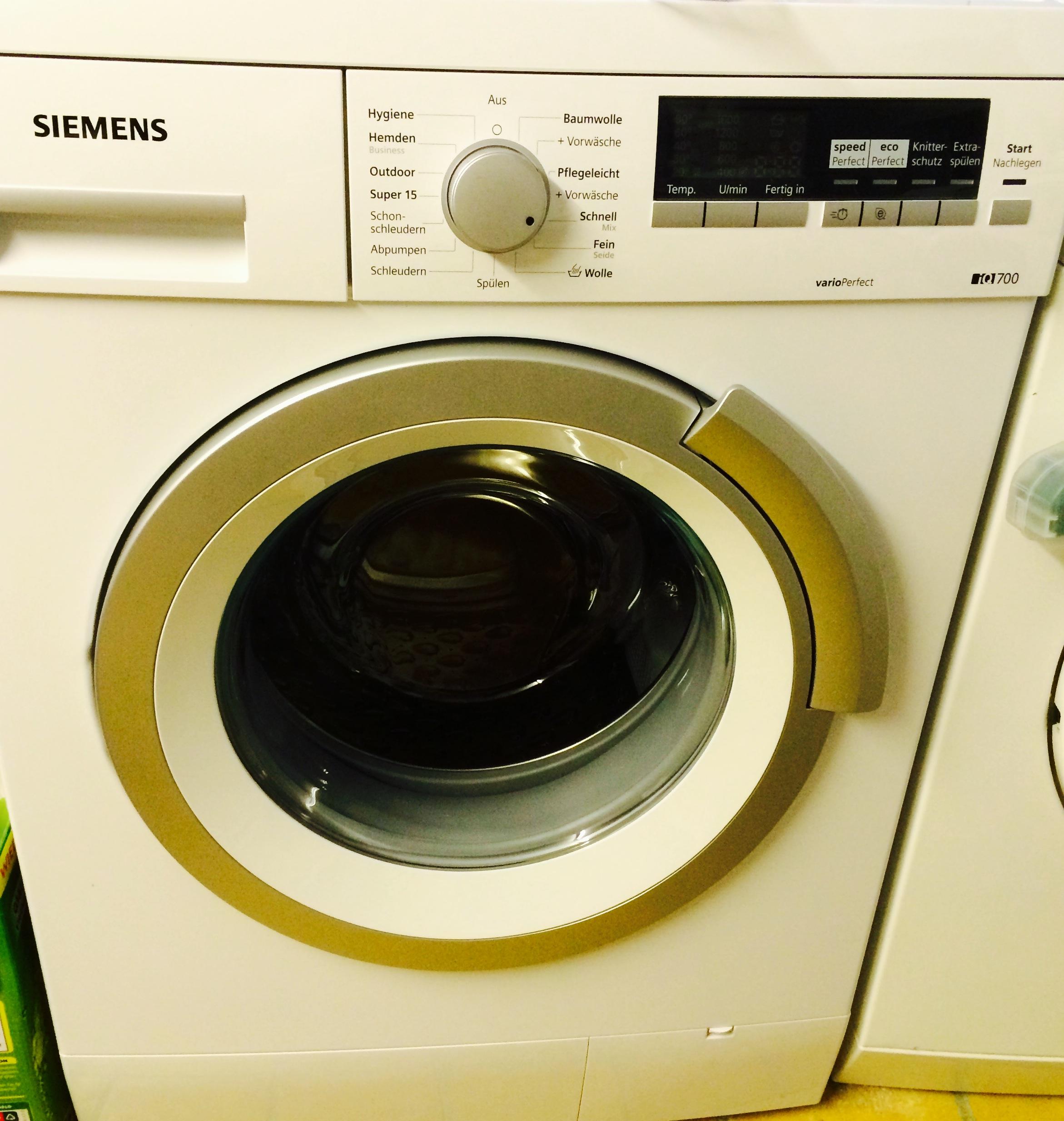 Waschmaschine vom Hotel und Appartement Haus Stallmeister