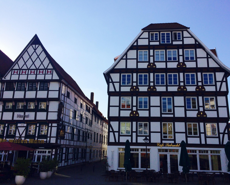 Fachwerkhäuser in der soester Altstadt