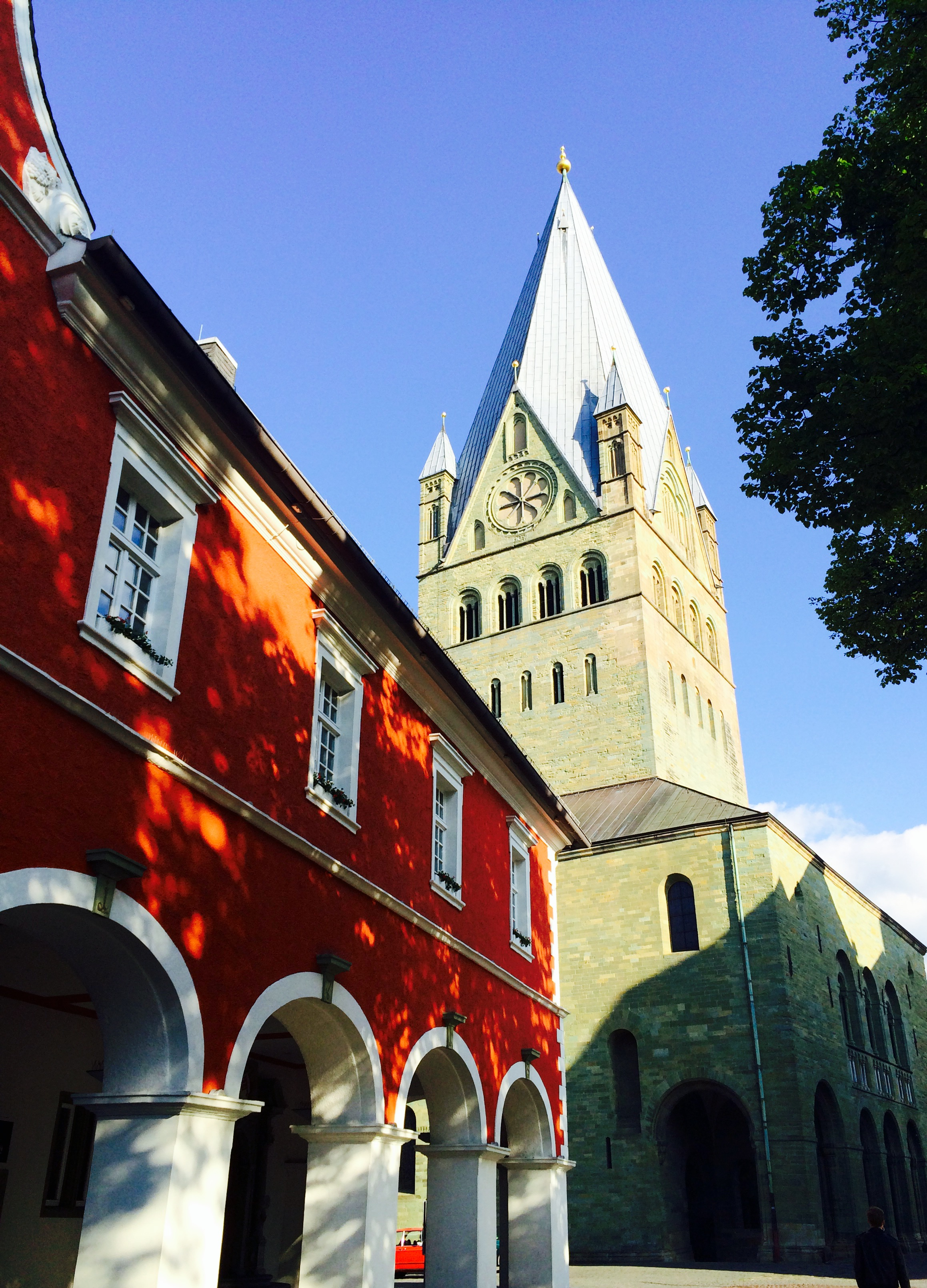Soest Kirche rotes Haus