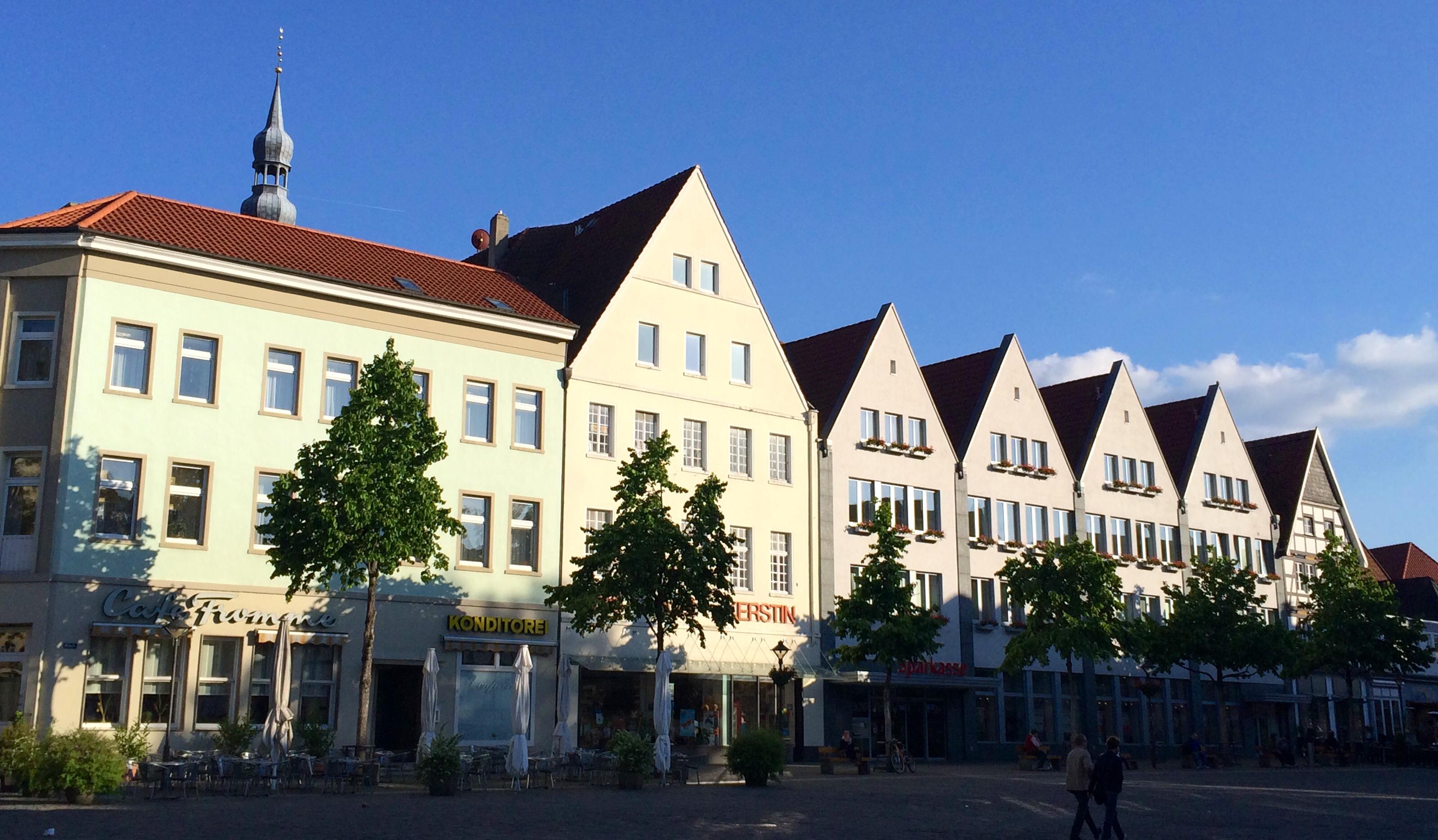 Soest Marktplatz Ostseite