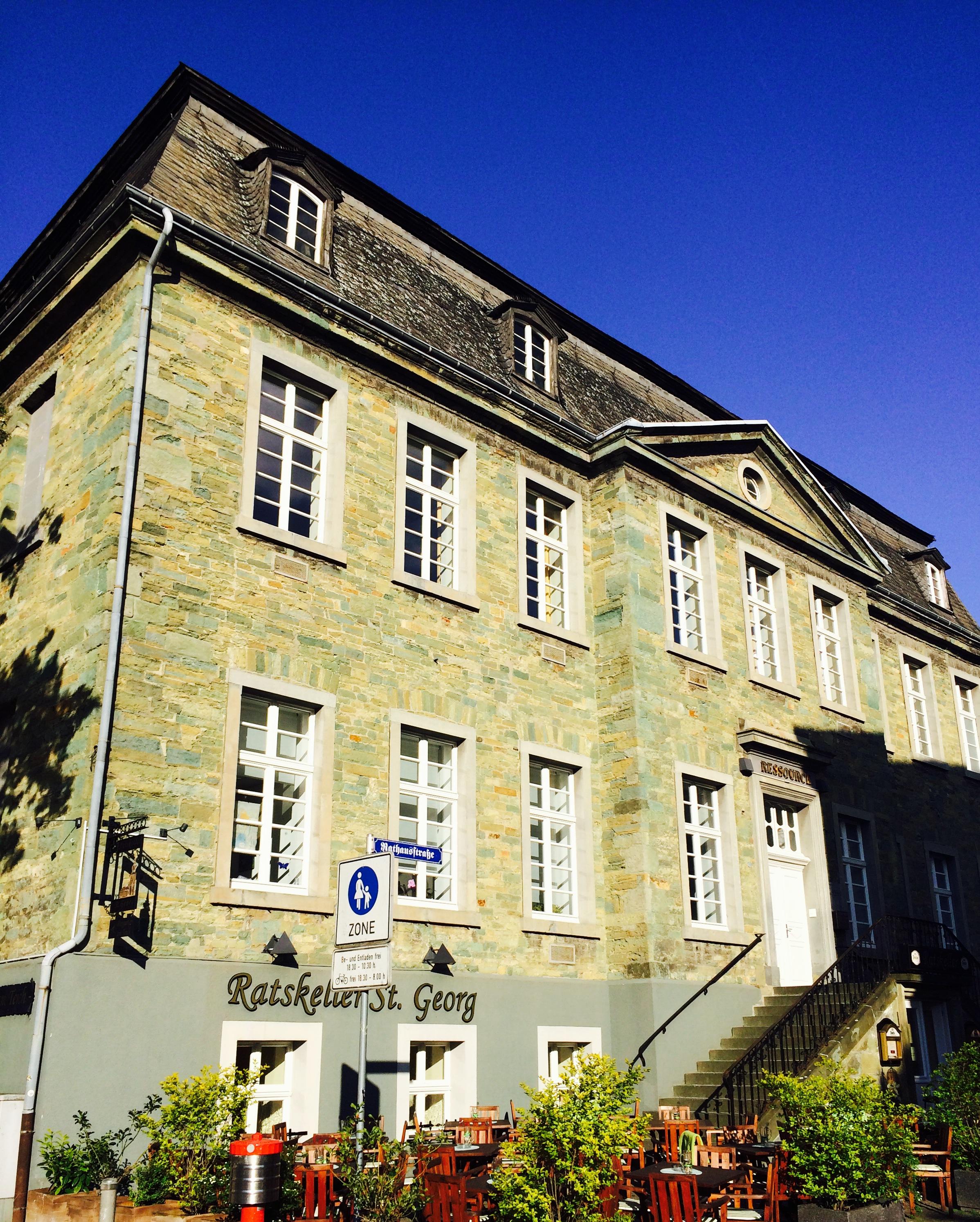 Ratskellergebäude in der Altstadt von Soest