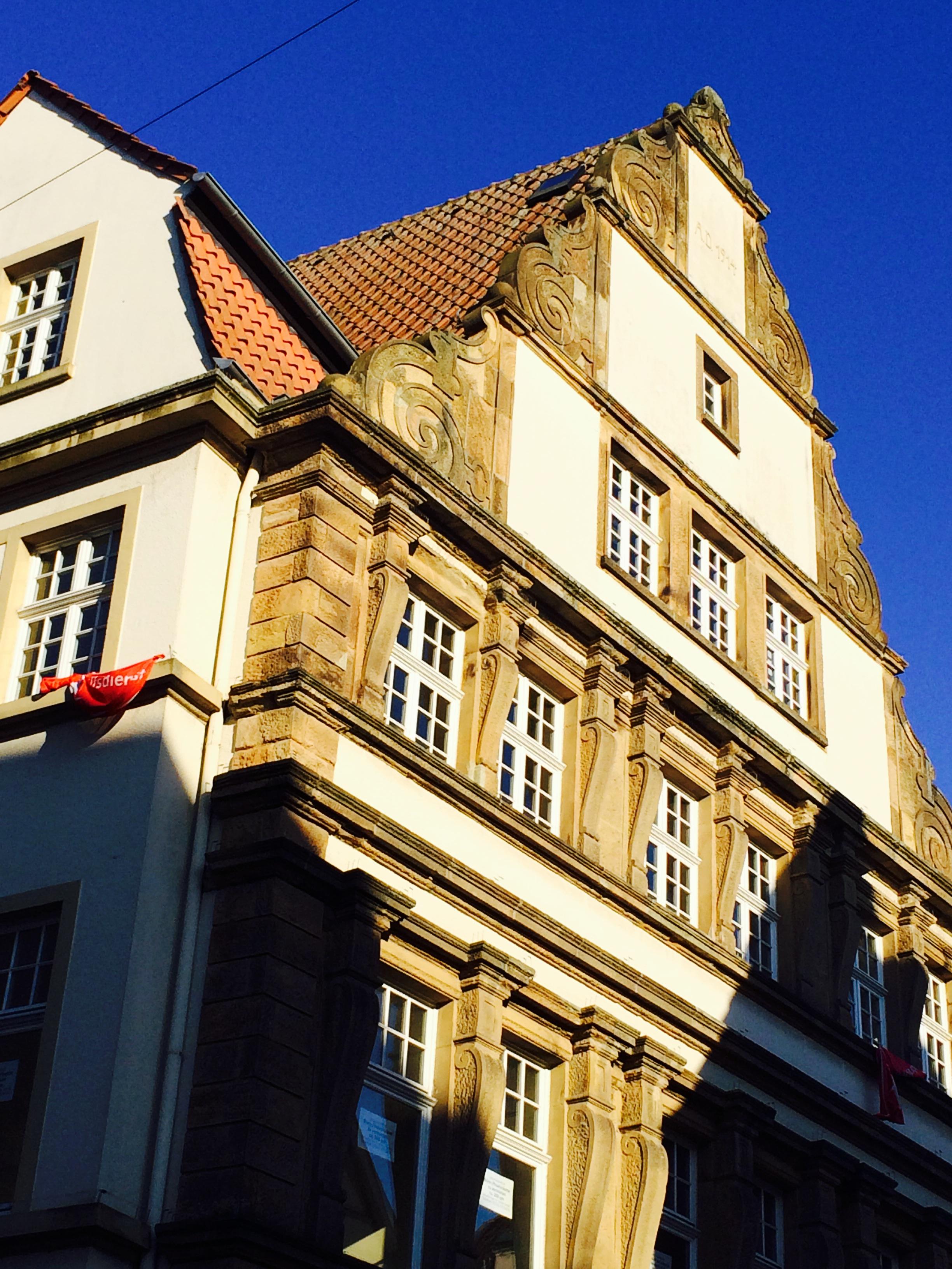 Altes Haus in Soest mit historischer Fassade