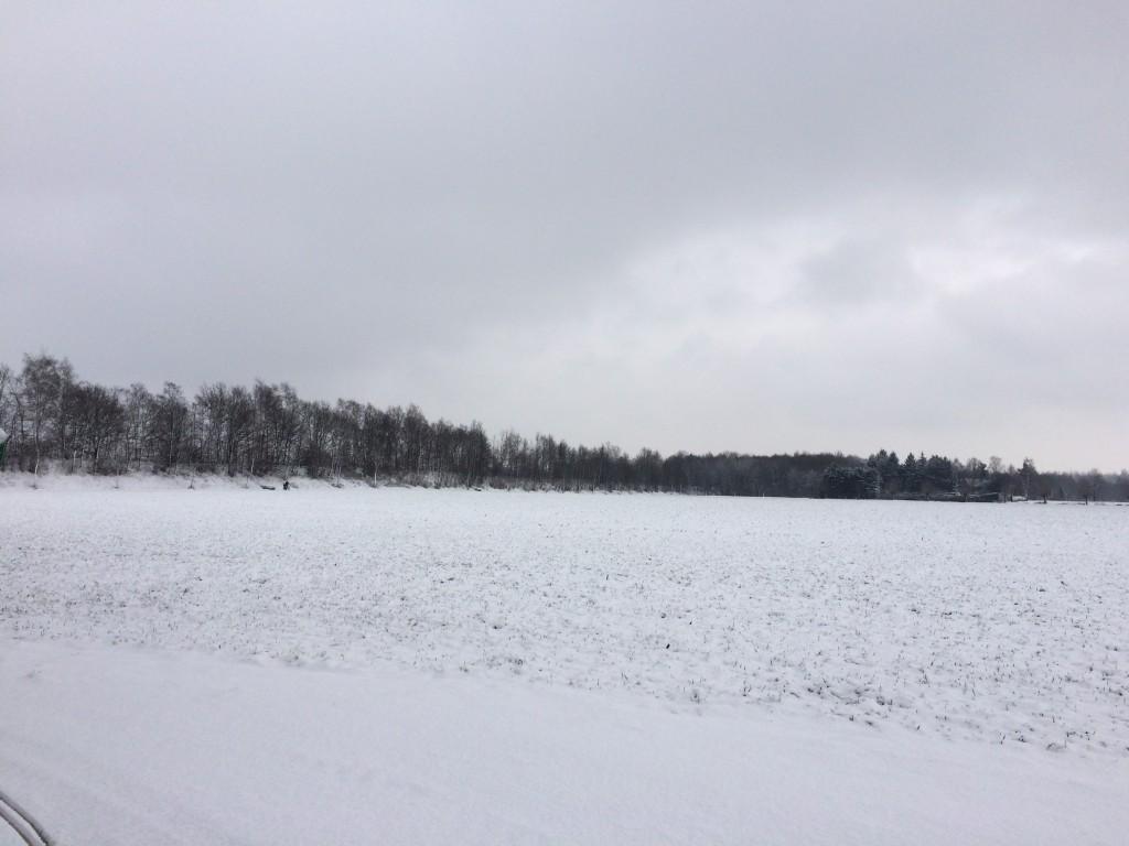 Haus Stallmeister im Schnee Feld Aussicht Hotel Pension Appartement