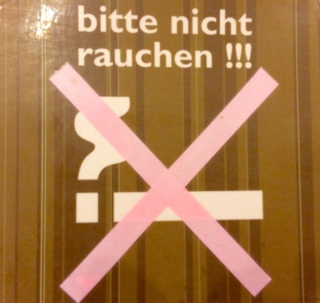 Nichtraucherhotel Hotel Pension Appartement Haus Stallmeister in Lippstadt Bitte nicht Rauchen