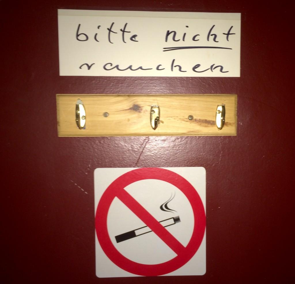 Nichtraucherhotel Hotel Pension Appartement Haus Stallmeister in Lippstadt Bitte nicht Rauchen 4