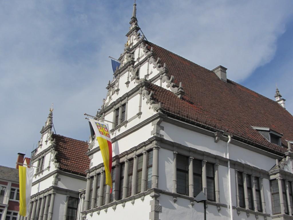 Paderborn Häuser Altstadt Pension
