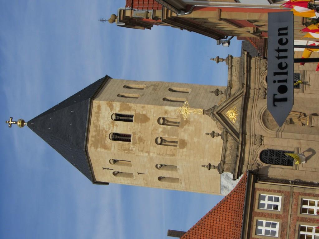 Paderborn Kirchturm Toiletten