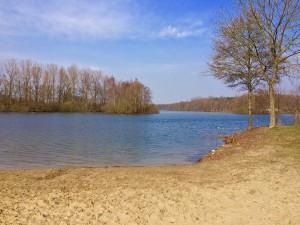 Alberssee der Badesee von Lippstadt