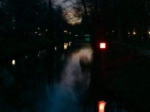 Lichtpromenade - neues Lichtobjekt der Lichtpromenade in Lippstadt