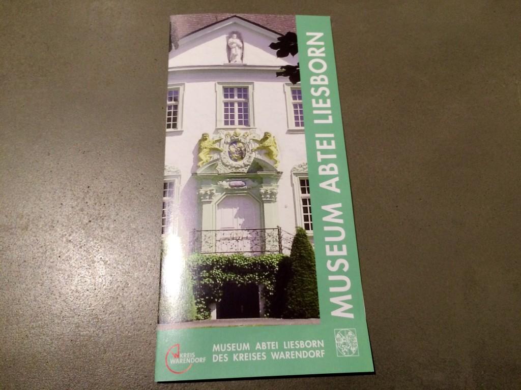 Museum Abtei Liesborn Flyer