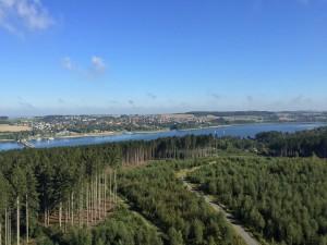 Ausblick Aussichtsturm Möhnesee