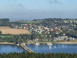 Staumauer Aussichtsturm Möhnesee