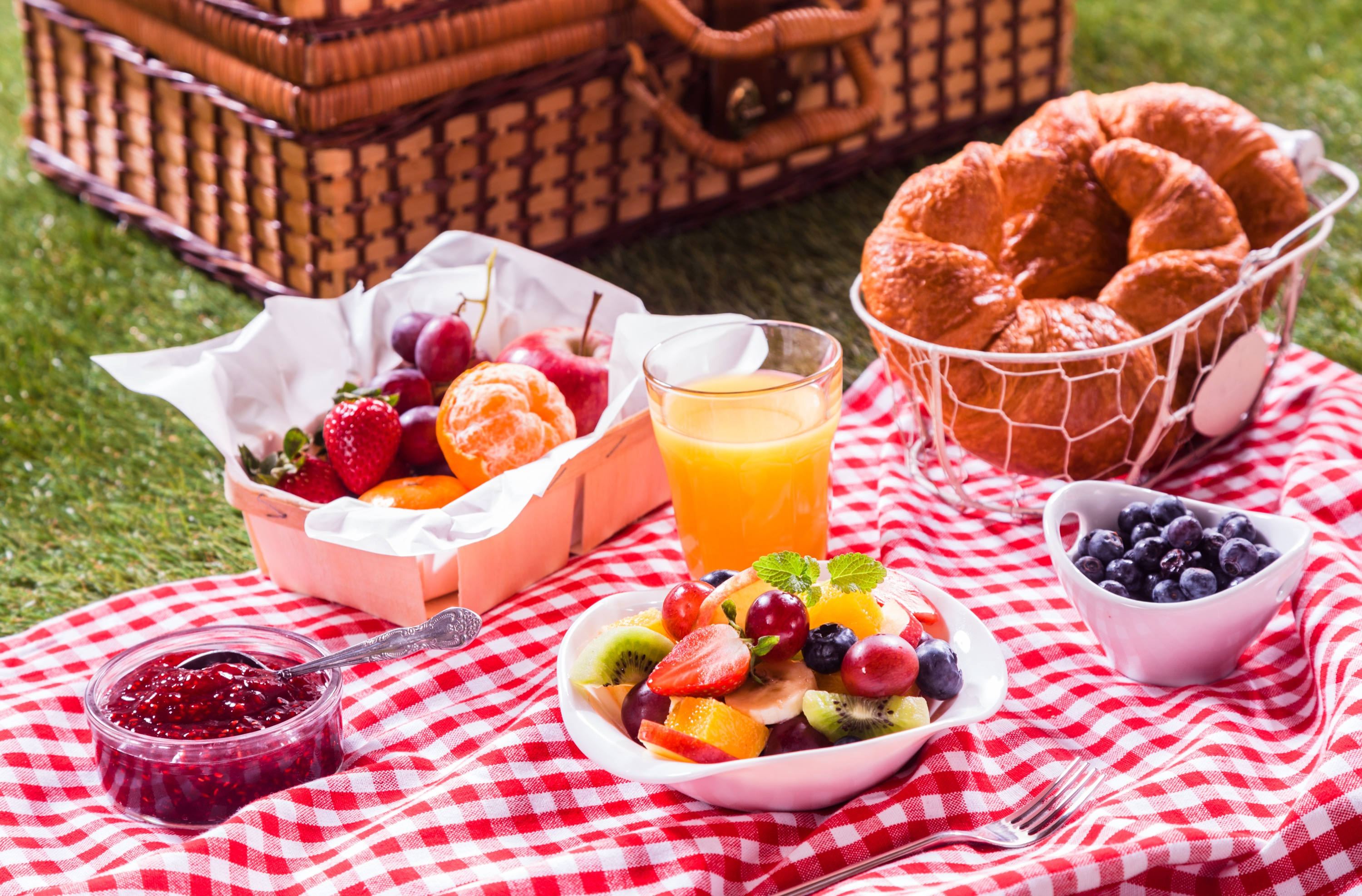 Pictures Of Old Fashioned Picnic Baskets