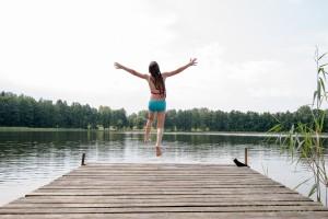 (Yevgen Sundikov/Shutterstock.com) Strandbad in den Ferien