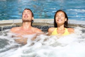 Wellness Lippstadt Whirlpool für Hotelgäste entspannen