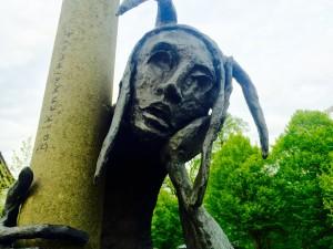 Eine weitere Skulptur in Lippstadt am Lippebug