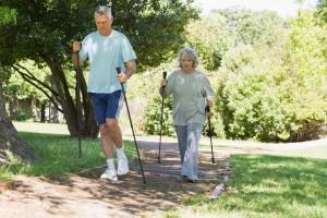 Nordic Walking auch für Senioren geeignet