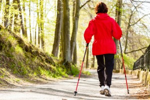 Nordic Walking Routen in der Nähe vom Hotel haus Stallmeister