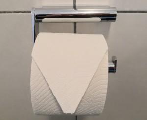 Aktuelles im Haus Stallmeister - neue WC Papierhalter