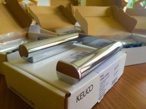 neue WC Papierhalter für unsere Gäste in Hotel Pension und Ferienwohnungen Haus Stallmeister