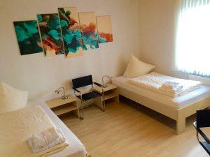 Ferienwohnung Lippstadt Zweibettschalfzimmer Haus Stallmeister