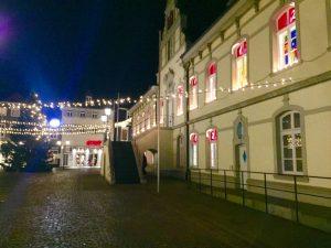 Lichtzelt lippstadt - Weihnachtsmarkt 2017 in der Nähe von Hotel Pension & Appartements Haus Stallmeister