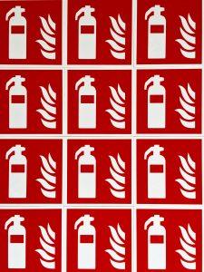 Brandschutz im Hotel - neue Brandschutzschilder