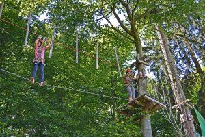 Hochseilgarten in Soest - klettern im Kletterpark