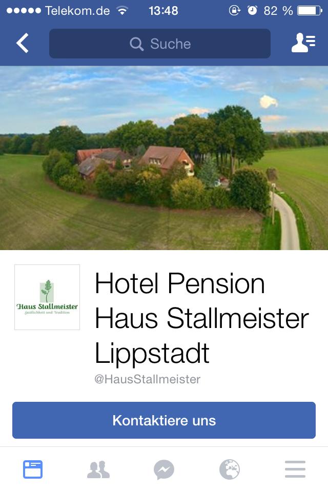 Hotel Pension und Appartements Haus Stallmeister auf Facebook