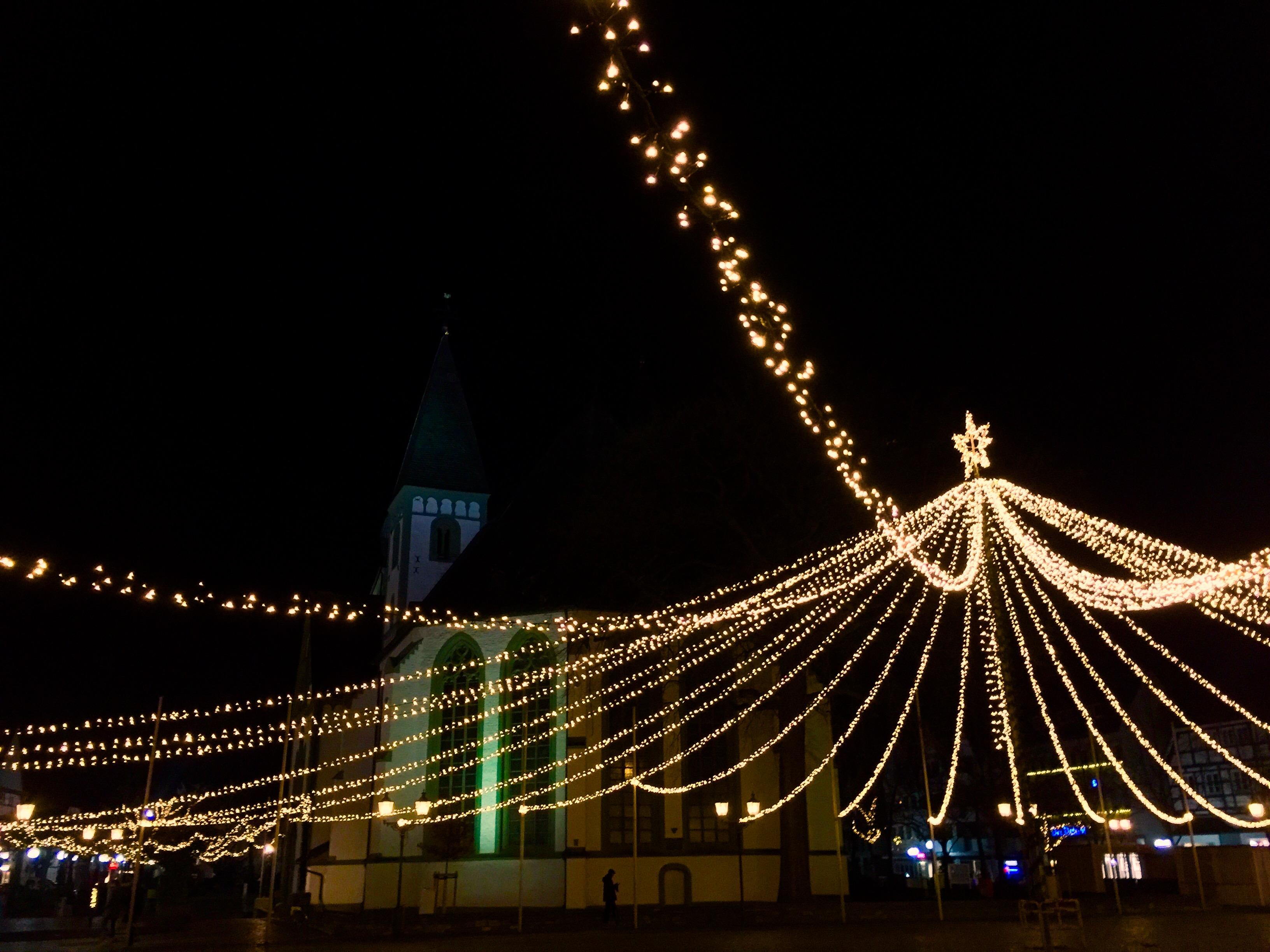 Warm und Trocken - Der Kinderweihnachtsmarkt Liesborn findet zu jeder Wetterlage statt