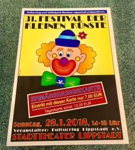 Festival der kleinen Künste Lippstadt Haus Stallmeister Hotel