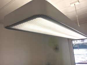 Beleuchtung im Haus Stallmeister - Rezeptionsbeleuchtung erneuert