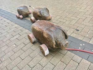 Holzschweine Lippstadt Innenstadt