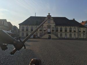 In der Nähe von Lippstadt befindet sich die Burgruine in Lipperode