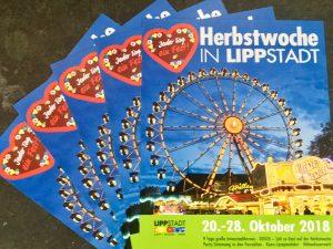 Funfair Lippstadt Kirmes Herbstwoche in der Nähe vom Hotel