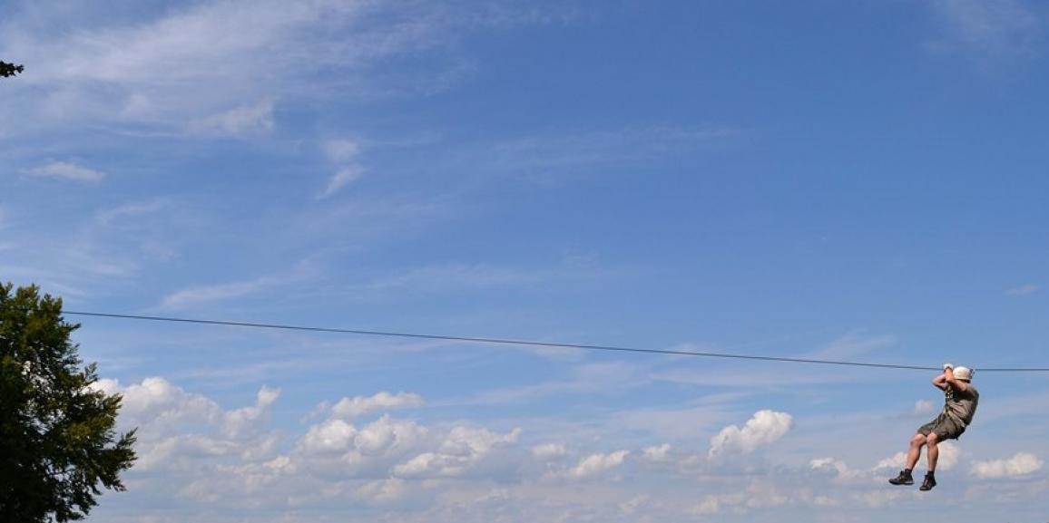 Kletterpark Soest mit 800m langer Seilbahn!