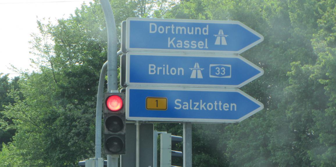 Autobahn-Anbindung zum Haus Stallmeister