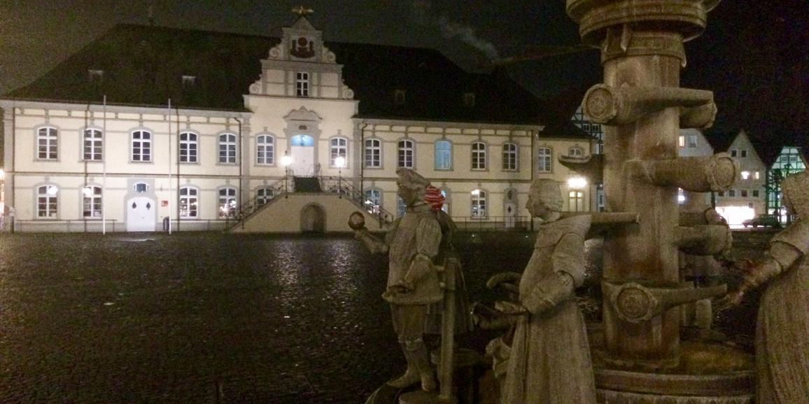 Bürgerbrunnen in Lippstadt Highlight für Hotelgäste