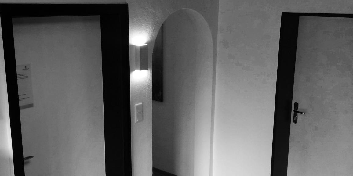 Flur im Hotel & Appartementhaus