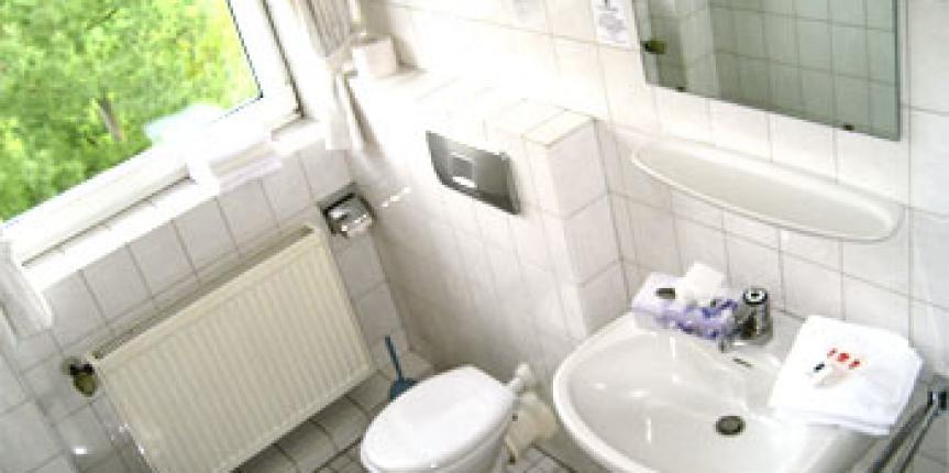 Ausstattung Unserer Hotel Badezimmer Haus Stallmeister Lippstadt