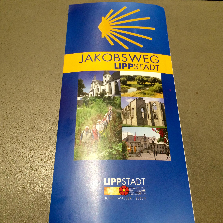 Jakobsweg Lippstadt Flyer
