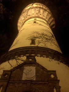 Lichtpromenade Wasserturm Lippstadt