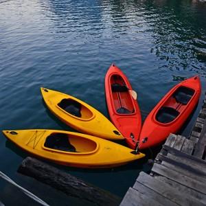(O lympus/Shutterstock.com)Kanutouren Lippstadt auf der Lippe in der Nähe zum Hotel vier Kanus