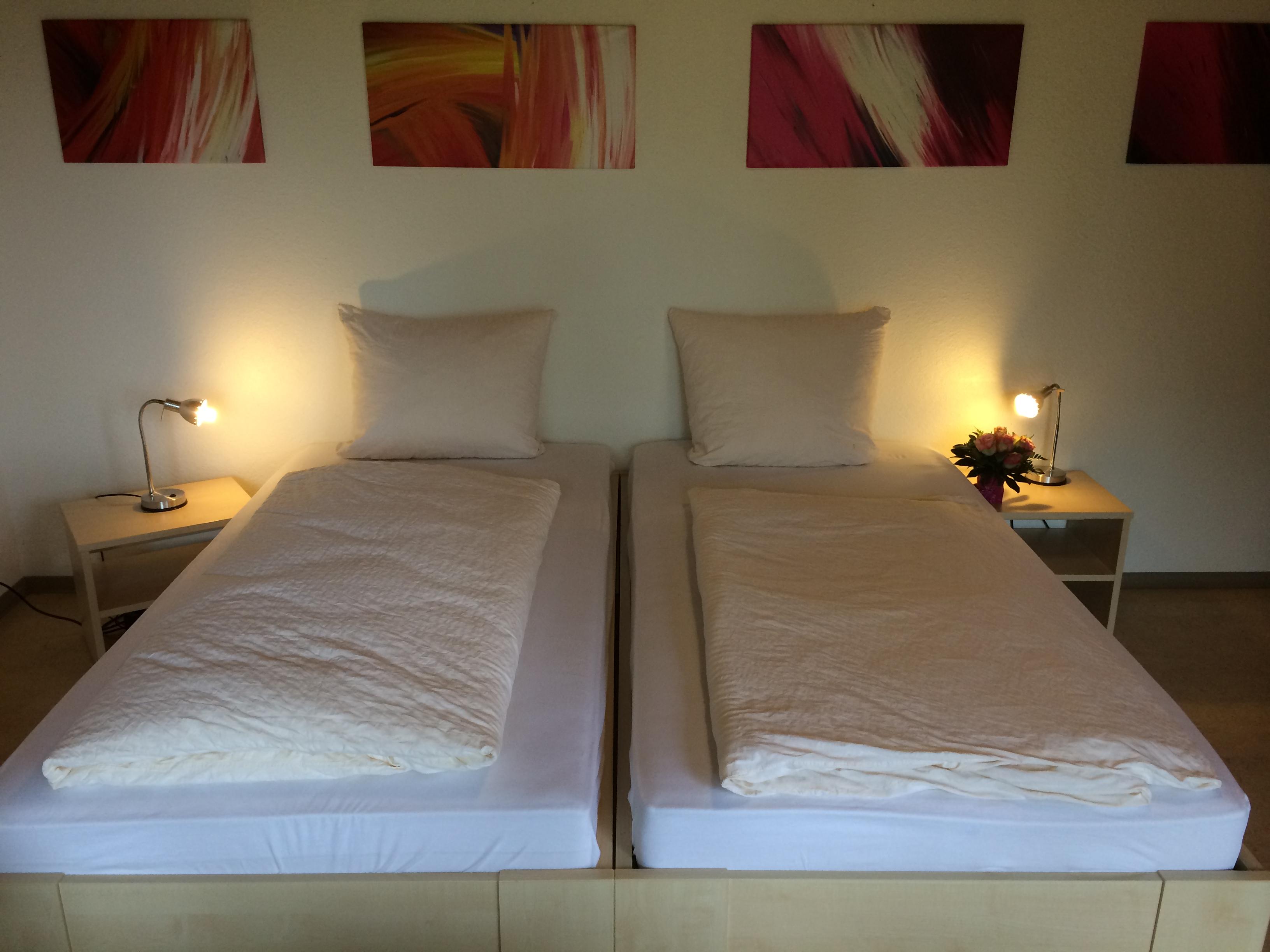 Hotel Pension Lippstadt Bad Waldliesborn Haus Stallmeister 12 Doppelbett IIII