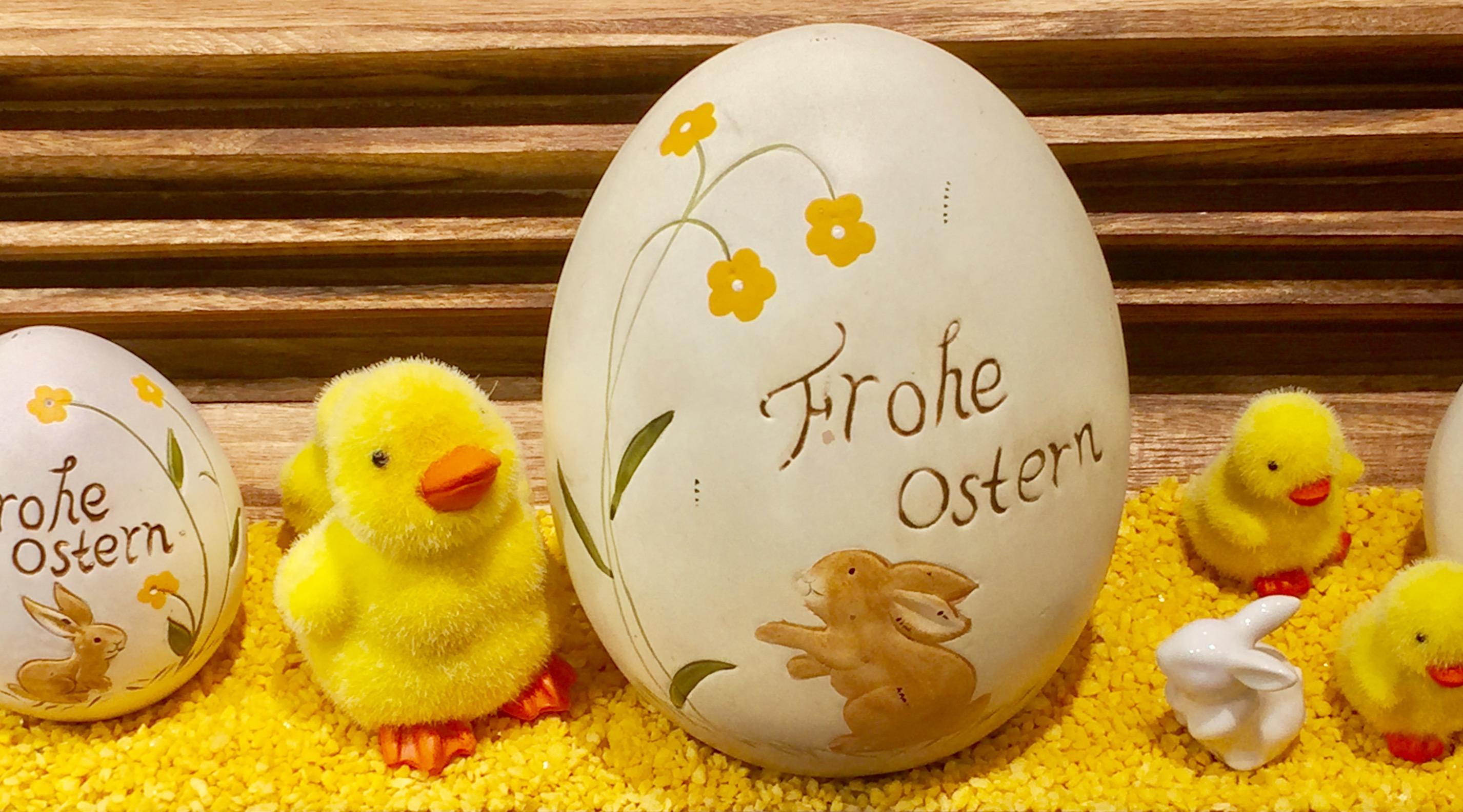 Frohe Ostern! Wünscht Hotel Pension und Appartements Haus Stallmeister