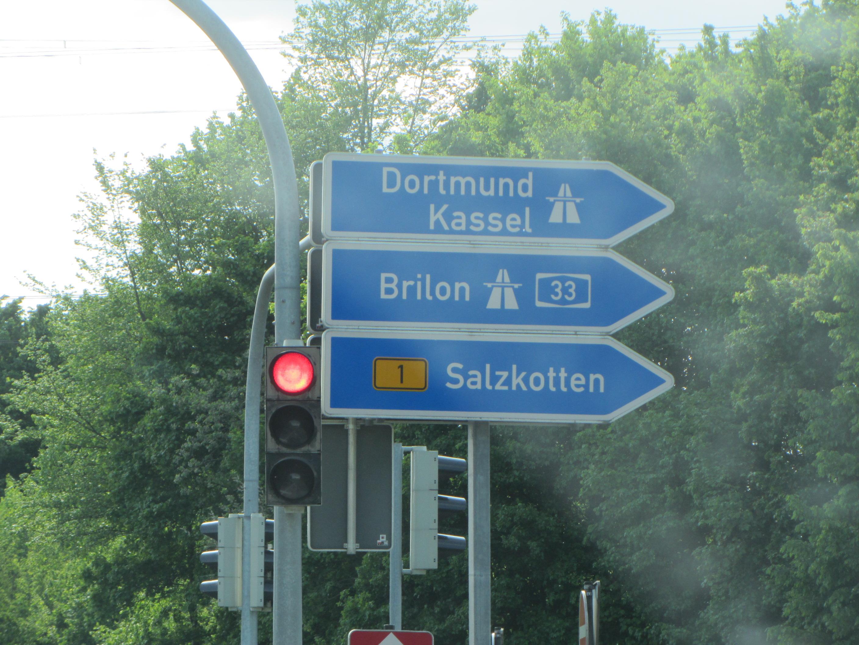Autobahn um Lippstadt - Haus Stallmeister informiert