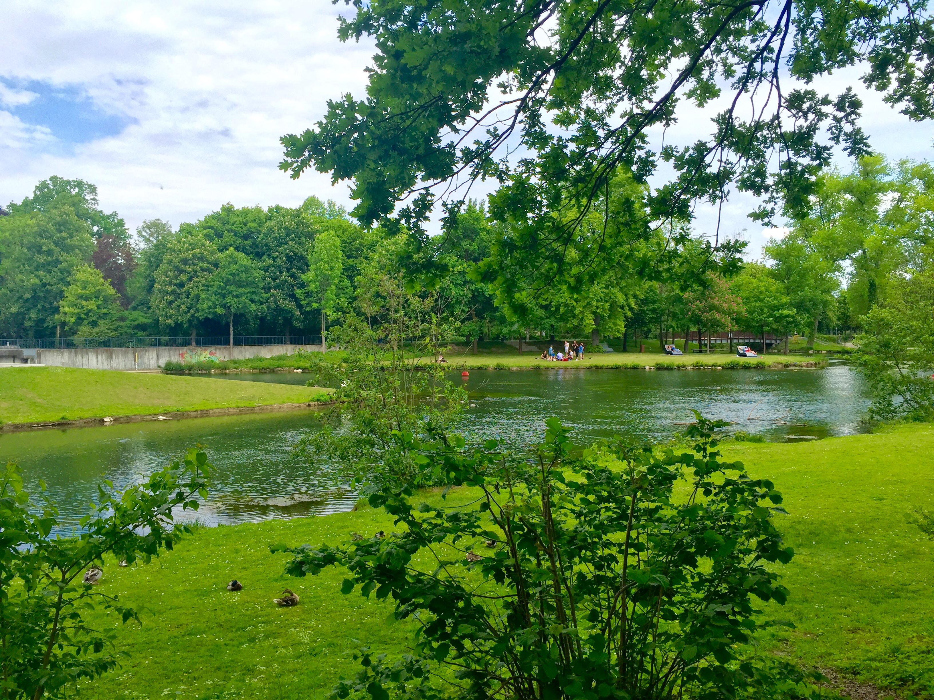 Grüner Winkel Lippstadt - Park für Hotelgäste in der Nähe vom Hotel